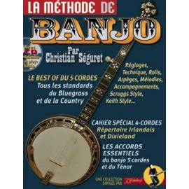 SEGURET METHODE DE BANJO (PACK PARTITION + CD)