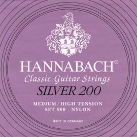 HANNABACH SILVER 200 MEDIUM/HIGH 1 MI 9001MHT