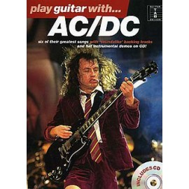PLAY GUITAR WITH ACDC GREATEST SONGS AM955900 (PACK PARTITION+CD)