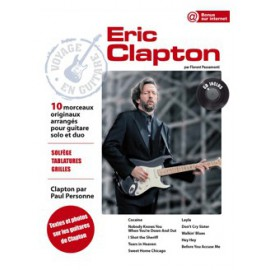 CLAPTON VOYAGE EN GUITARE PCSONG88 (PACK PARTITION+CD)