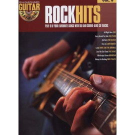 GUITAR PLAY ALONG ROCK HIT VOL 9 (PACK PARTITION+CD)