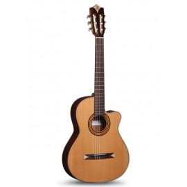 GUITARE ALHAMBRA CROSS OVER CS1 CTW E3 SERIE S ACAJOU