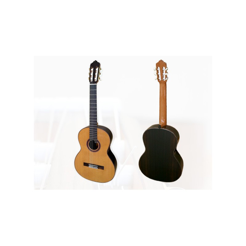 guitare burguet 1 epicea l 39 atelier de la guitare. Black Bedroom Furniture Sets. Home Design Ideas