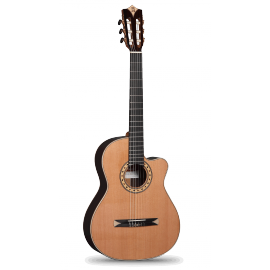 GUITARE ALHAMBRA CROSS OVER CS3 CTW E5 SERIE S PALISSANDRE
