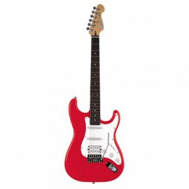 GUITARE DEAN AVALANCHE STRAT ROUGE AVLCRD