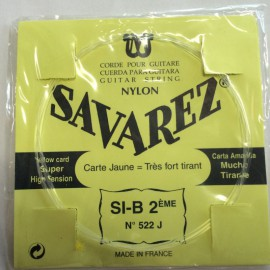 SAVAREZ CARTE JAUNE CORDE 2 SI 522J