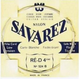 SAVAREZ CARTE BLANCHE CORDE 4 RE 524B