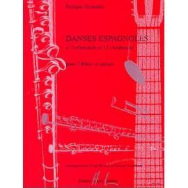GRANADOS DANSES ESPAGNOLES N°2 ET N°12 HL26635