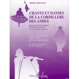 ARRIAGADA CHANTS ET DANSES DE LA CORDILLERE DES ANDES HL26602