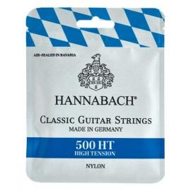 CORDES GUITARE CLASSIQUE HANNABACH 500HT  652247