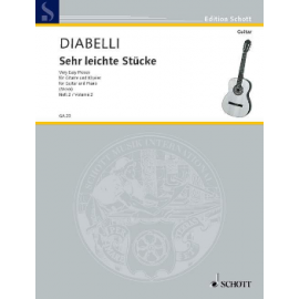 DIABELLI PIECES TRES FACILES 2 GA23