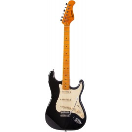 GUITARE ELECTRIQUE JM FOREST BLACK   ST70MABLACK