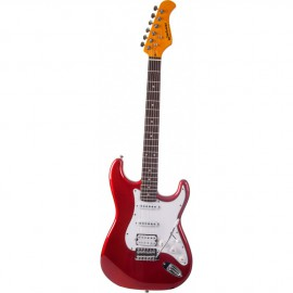 GUITARE ELECTRIQUE JM FOREST CANDY RED  ST73RACAR