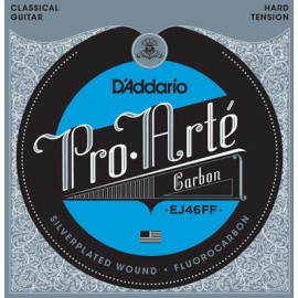 D'ADDARIO PRO ARTE CARBON HARD TENSION JEU EJ46FF